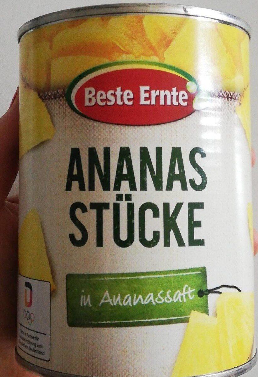 Ananas Stücke in Ananassaft - Produit - de