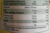 Ananas Stücke in Ananassaft - Informations nutritionnelles - de