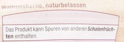 Walnusskerne - Ingrédients - de