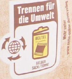 Walnusskerne - Instruction de recyclage et/ou informations d'emballage - de