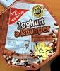 Joghurt & Knusper Vanillegeschmack & Schoko Perlen - Product