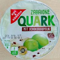 Zabaione Quark mit Schokoraspeln - Product