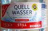 Quell Wasser still - Produkt