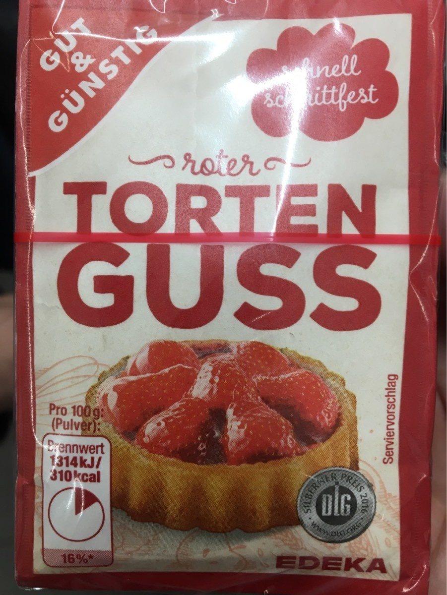Torten guss rot - Prodotto - fr