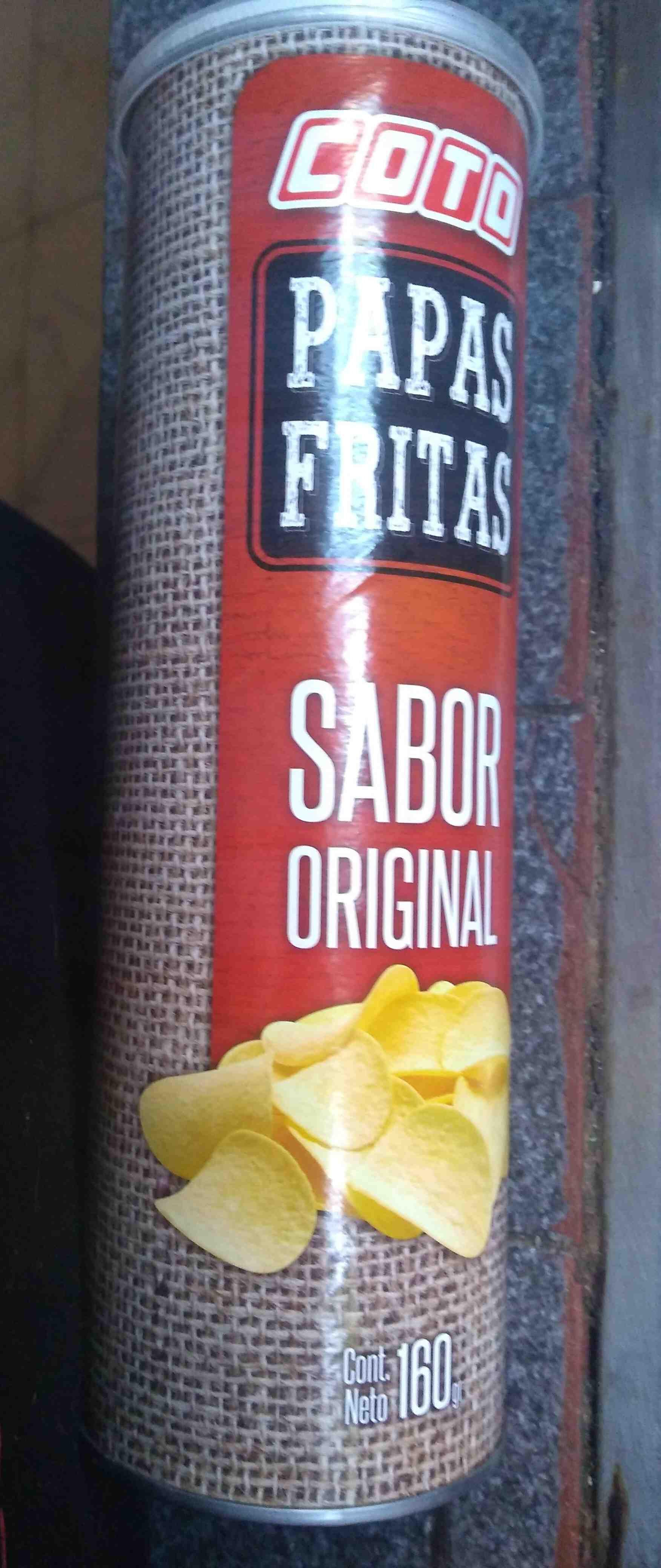 papas fritas de tubo, COTO - Producte - es