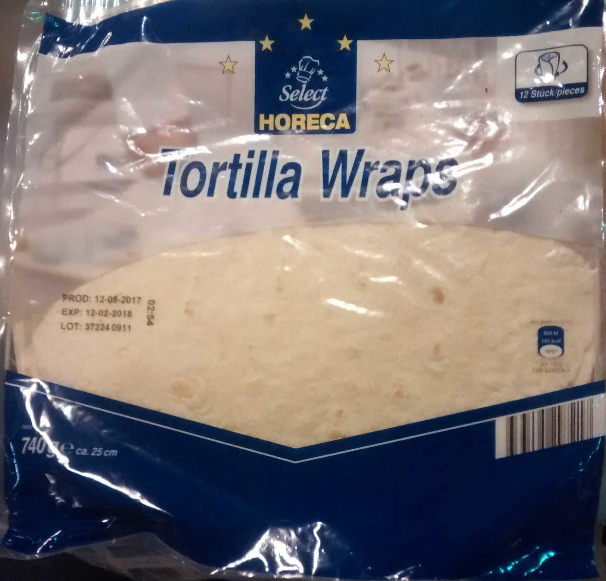 Tortilla Wraps - Product - fr
