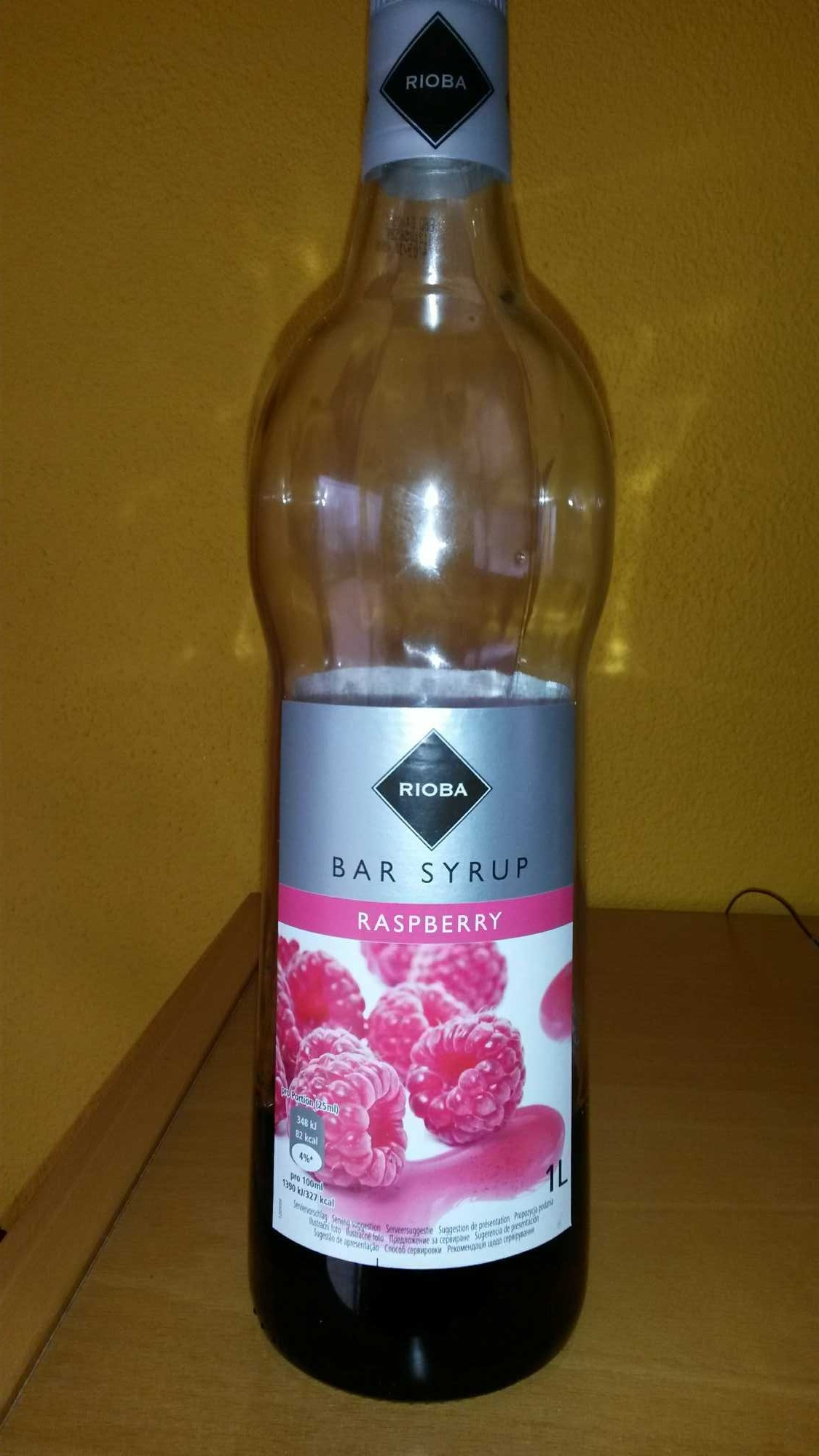 Bar Syrup Raspberry - Product