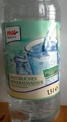 Natürliches Mineralwasser medium - Product