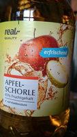 Apfelschorle 65% Fruchtgehalt mit Kohlensäure - Produkt