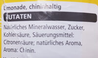 Tonic Water - Ingredients - de