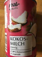 KOKOS-MILCH cremig - Produit