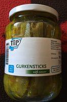 Gurkensticks süß-sauer - Produkt