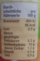 Mexican Chilli Bohnen - Nutrition facts