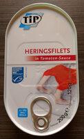 Heringsfilets in Tomaten-Sauce - Produkt