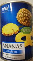 Ananas in Scheiben - Produkt