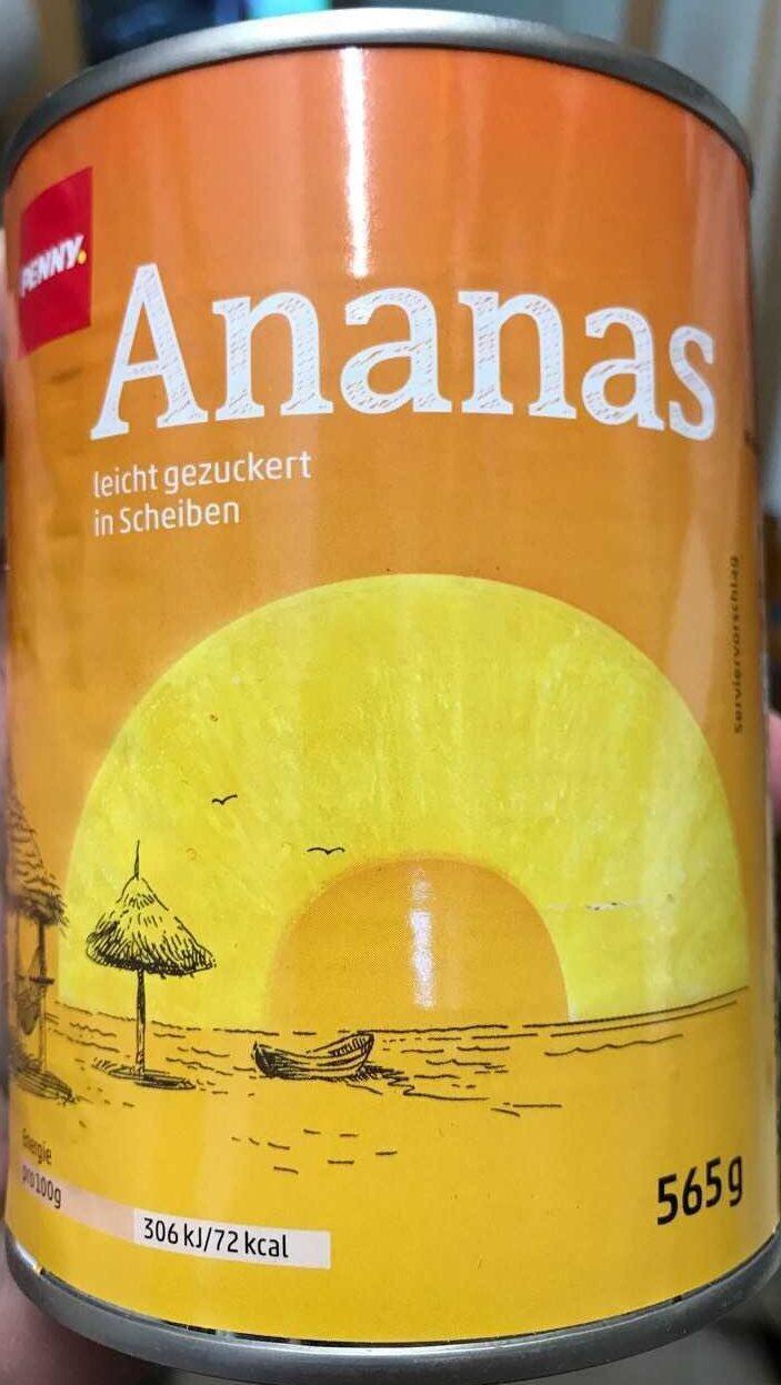 Ananas in Scheiben - Produit - de