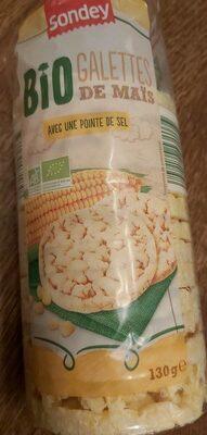 Bio galettes de maïs avec pointe de sel - Produit - fr