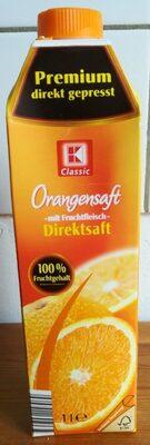 Orangensaft mit Fruchtfleisch Direktsaft - Product - de