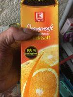 Orangensaft mit Fruchtfleisch Direktsaft - Product