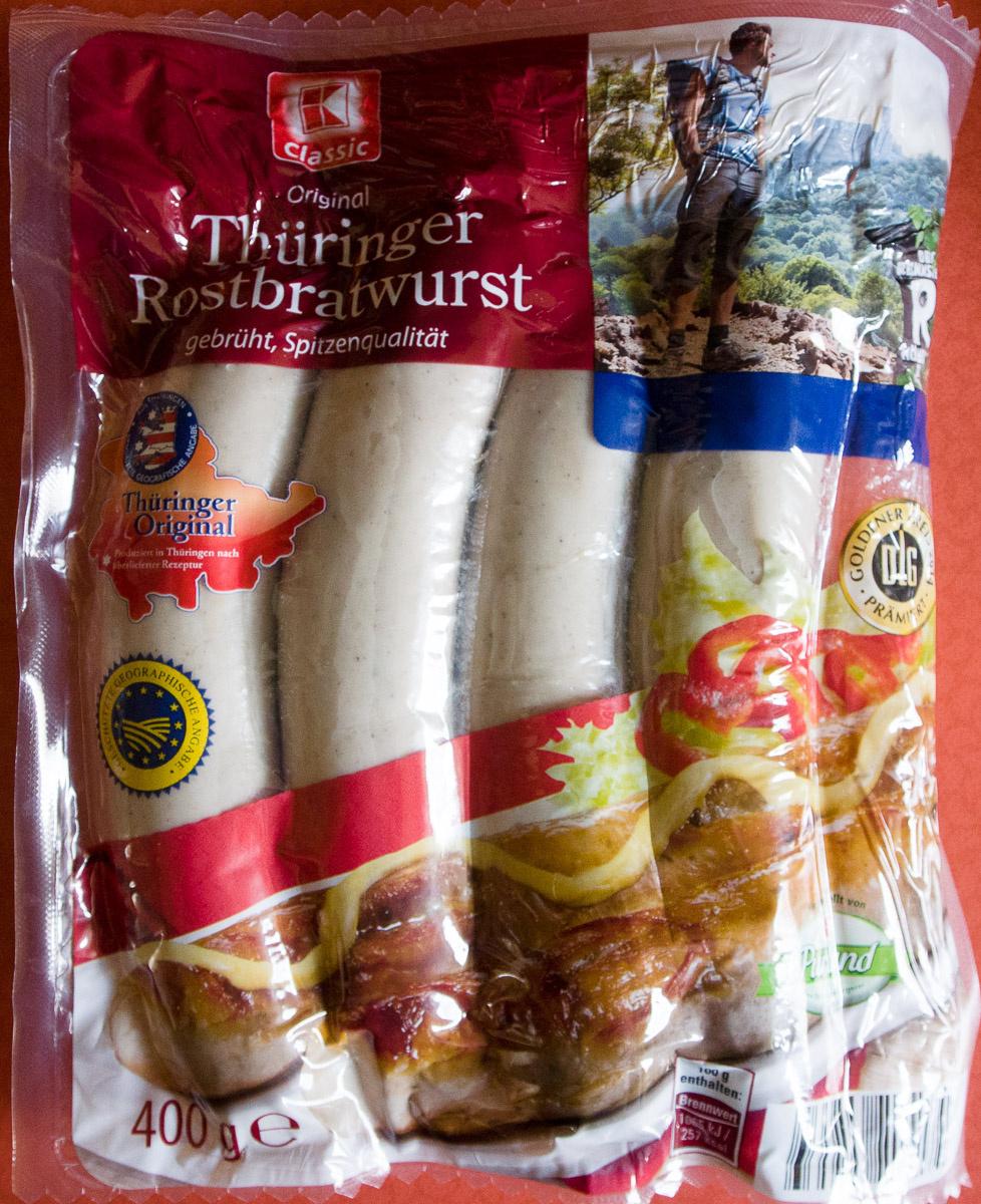 Thüringer Rostbratwurst - Prodotto - de