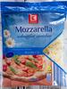 Mozzarella schnittfest gerieben - Product