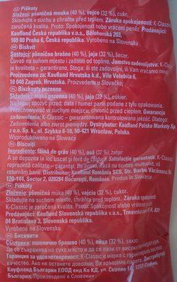 KClassic Biscuiți - Składniki