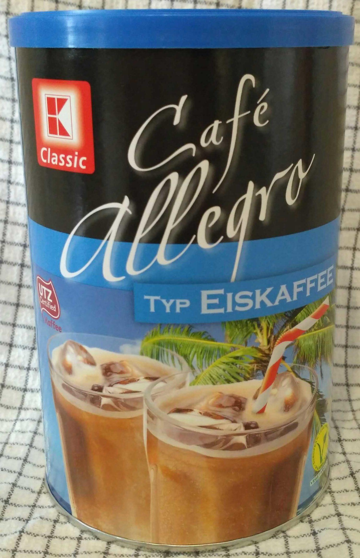 Café allegro Typ Eiskaffee - Produkt