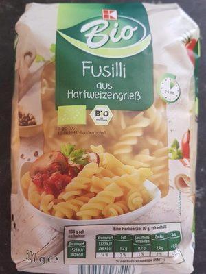 Fusilli aus Hartweizengrieß - Produit
