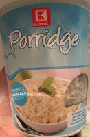 Porridge - Produit