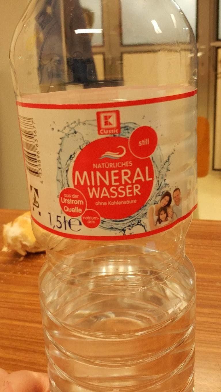 Natürliches Mineralwasser - Produit