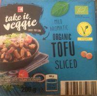 Organic tofu sliced - Produit