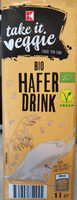 K Take It Veggie Bio Hafer Drink - Produit - fr