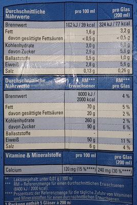 Bio Soja Drink - Voedingswaarden - de