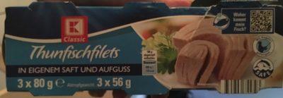Thunfischfilets, 3X56G Abtropfgewicht - Product