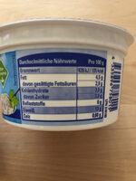 Körniger Frischkäse - Informations nutritionnelles - de