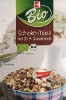 Bio Schoko-müsli Mit 23% Schokolade K-classic,SCH. .. - Produit - de