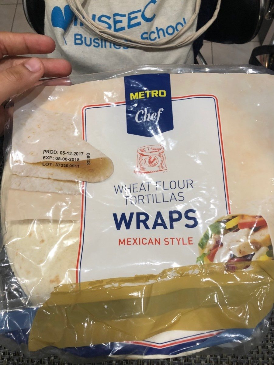 Wraps - Product - fr