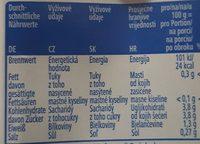 Passata di pomodoro - Informations nutritionnelles - de