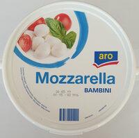 Mozzarella Bambini - Produkt