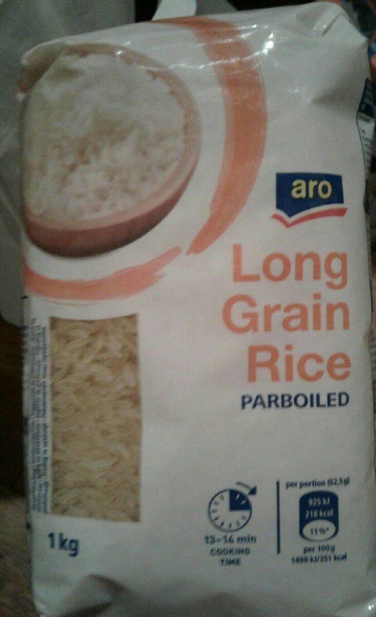 Aro Long Grain Rice Parboiled - Produit - en