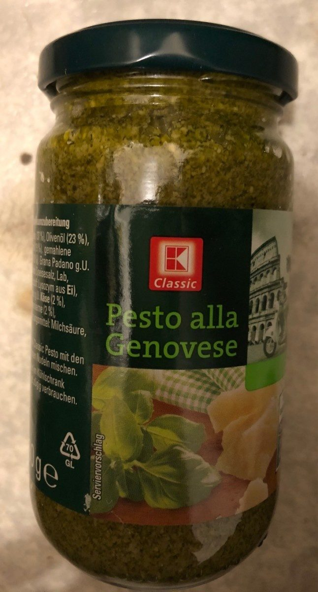 K Classic Pesto Alla Genovese - Product - fr