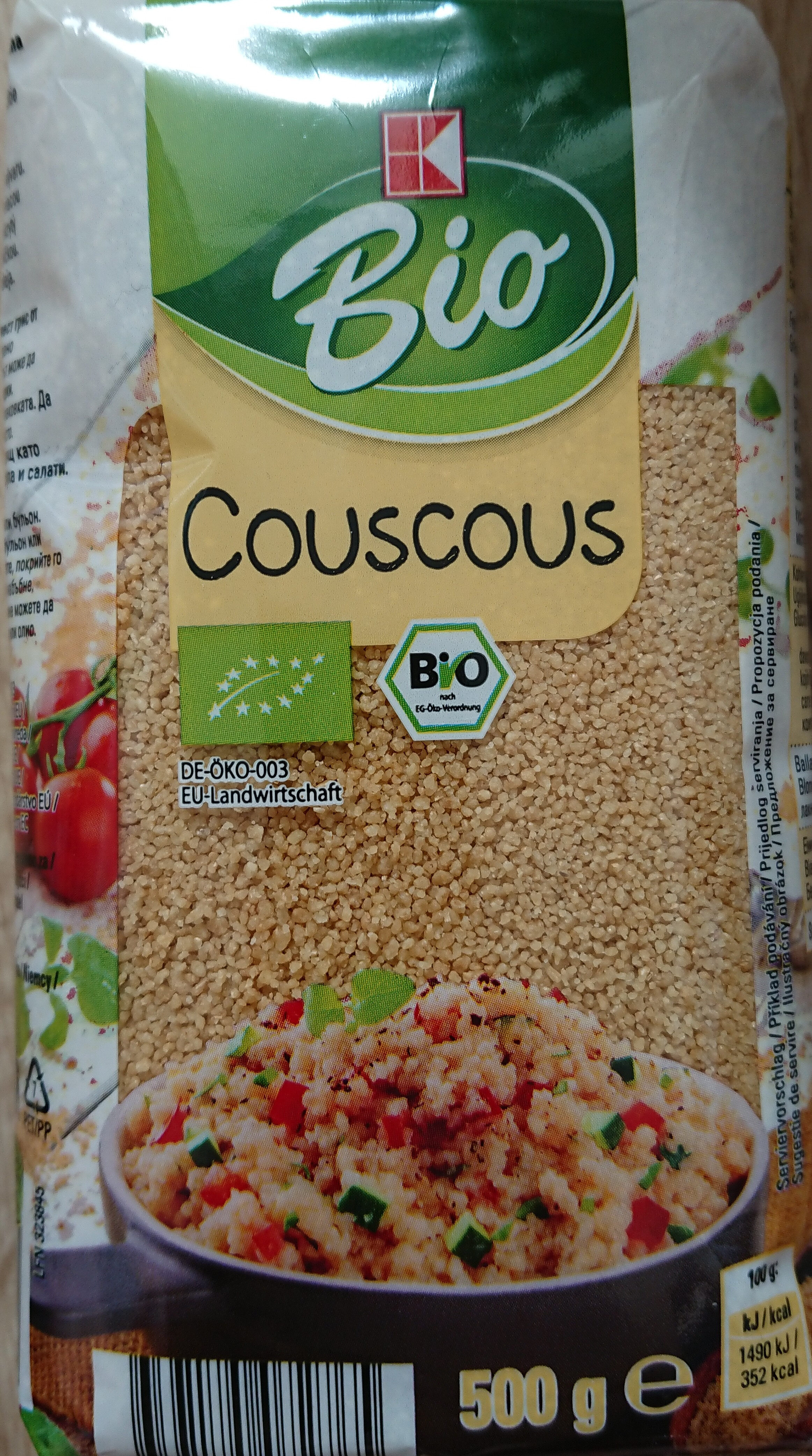K Classic Bio Couscous - Produkt - de