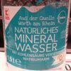 Natürliches Mineralwasser - Prodotto
