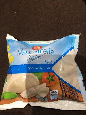 Mozzarella Light - Produkt - de