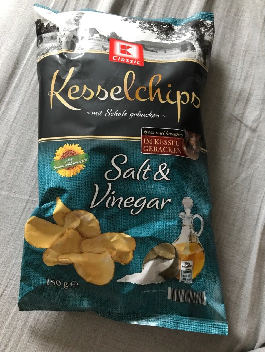 Kesselchips Salt&Vinegar - Produit - fr