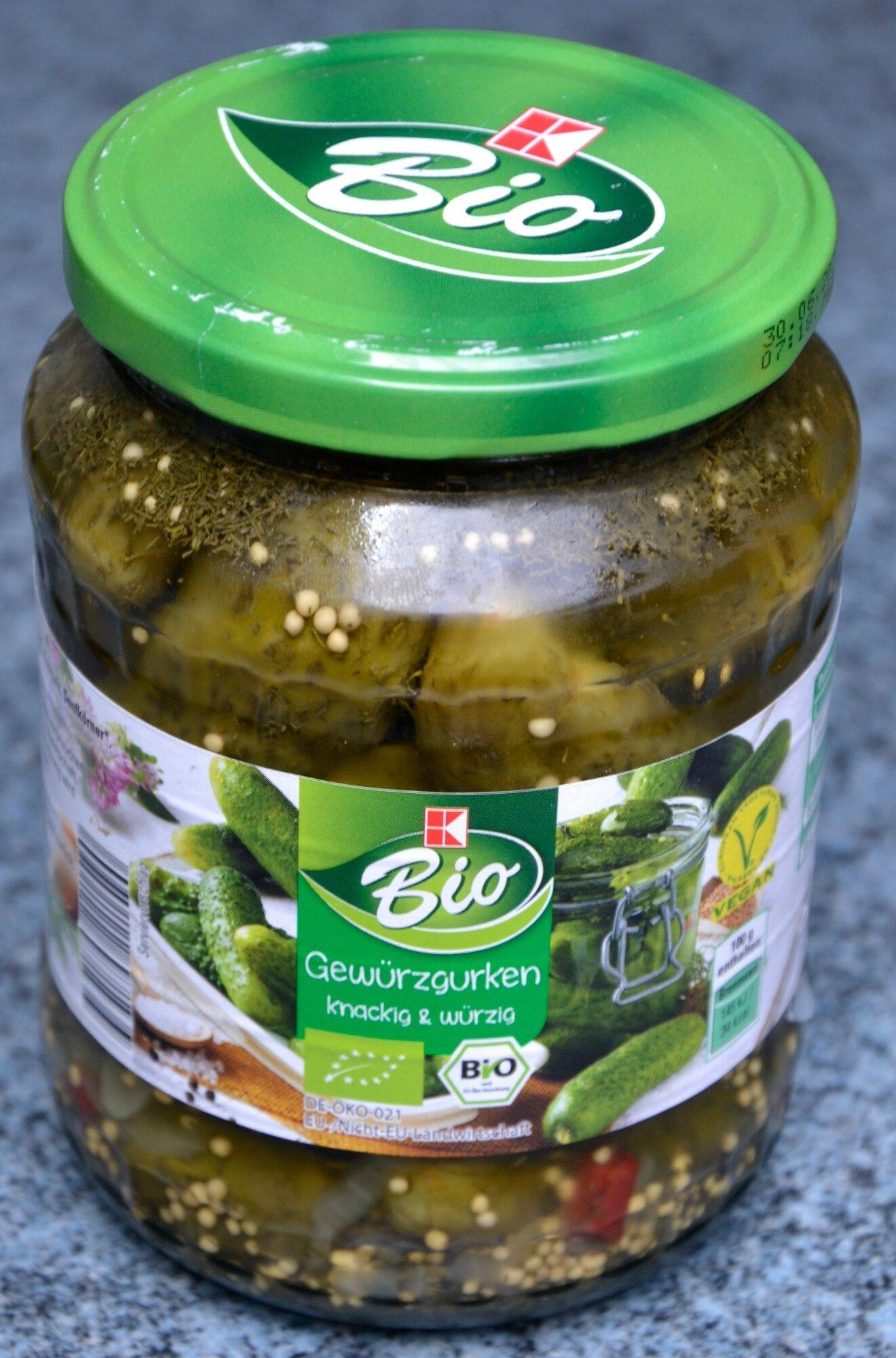 K-Bio Gewürzgurken - Product