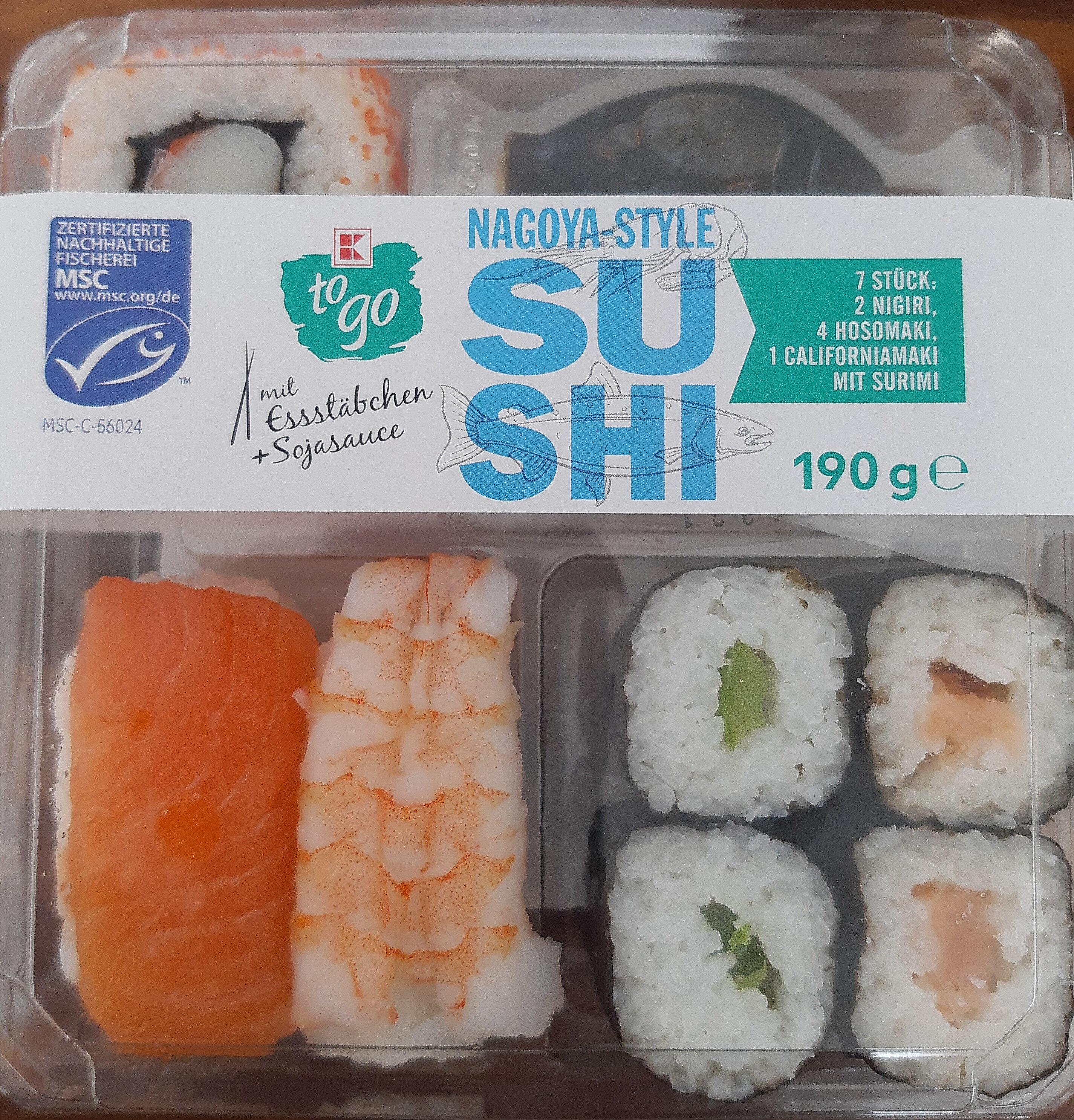 Nagoya Style Sushi - Produit - de