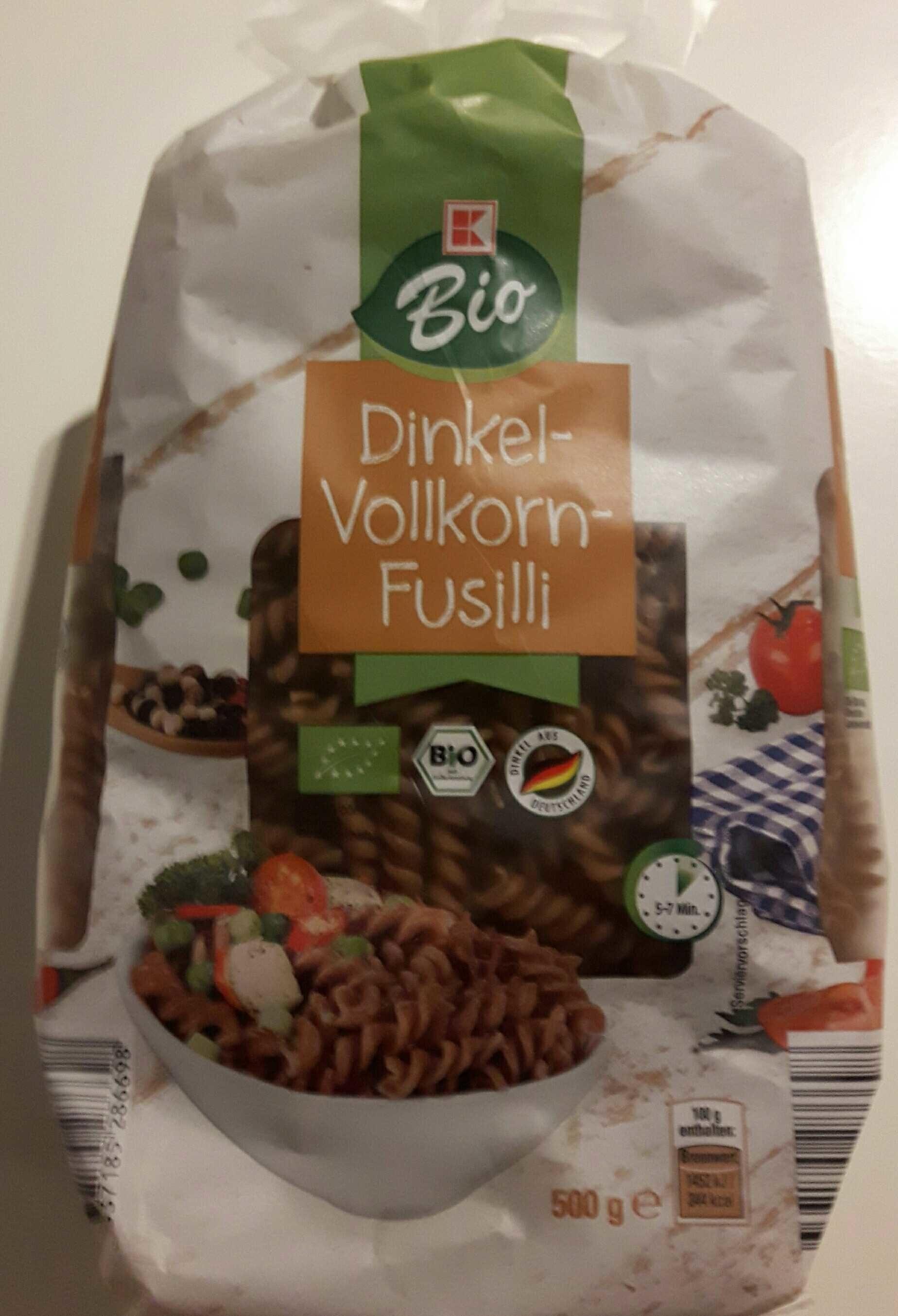 Dinkel-Vollkorn-Fusilli - Product