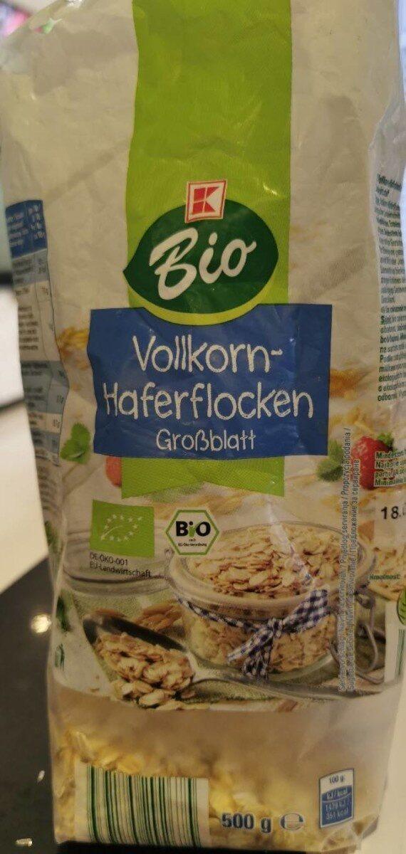 Vollkorn-Haferflocken - Produit