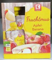 Fruchtmus Apfel-Banane - Product